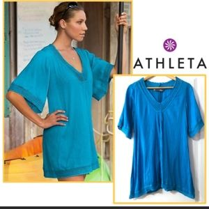 XXS Athleta Nixie tunic swim cover-up/dress